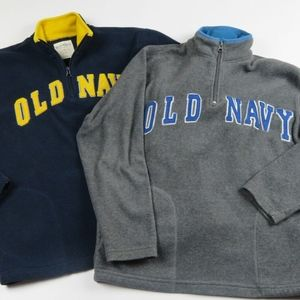 2 Boy OLD NAVY Fleece Tops